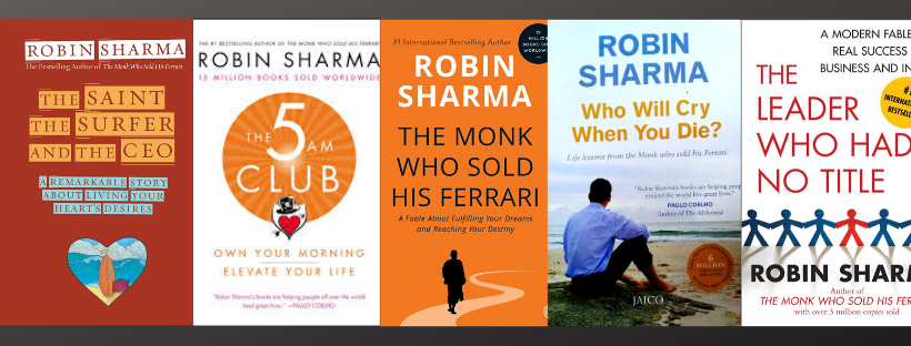 Best Books by Robin Sharma Books that you should definitely read!
