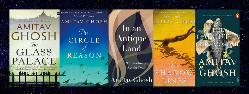 Best Books by Jnanpith Award winner Amitav Ghosh!