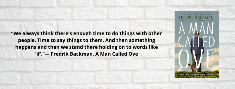 Love, Loss and Grief: A review of A Man Called Ove By Fredrik Backman
