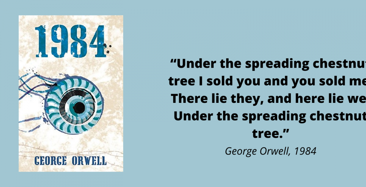 Future in Past – A Dystopian Review of 1984 by George Orwell
