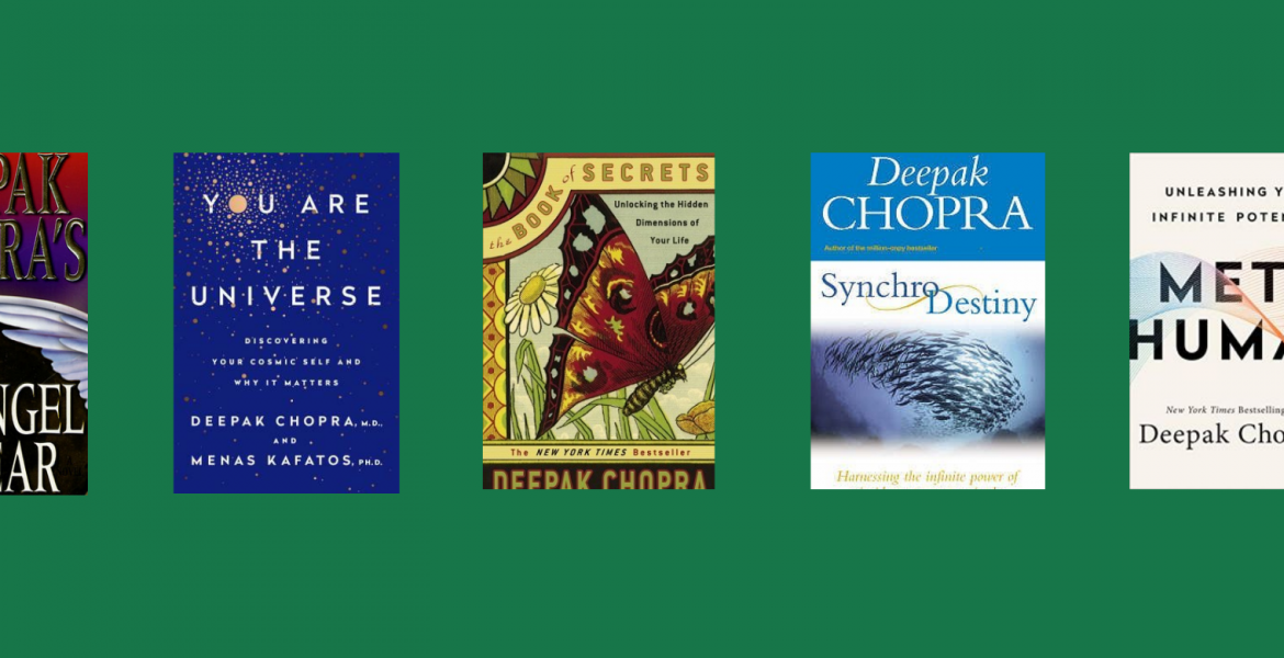 Medicine Man Turned Author – Best Deepak Chopra Books