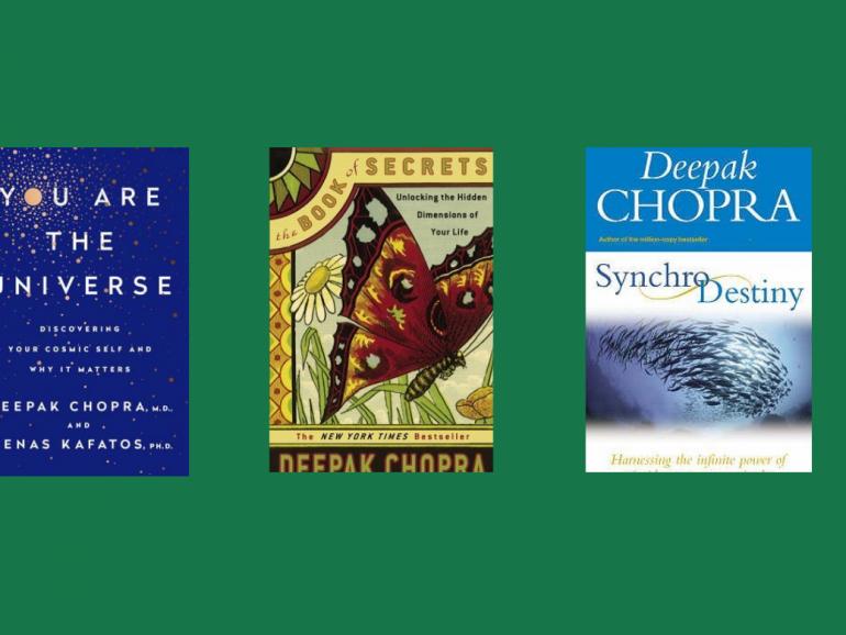 Medicine Man Turned Author – Best Deepak Chopra Books