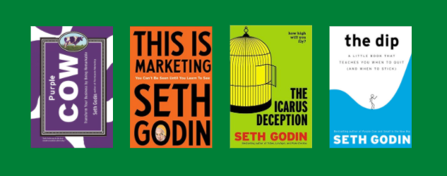 Best Books by The Marketing Guru – Seth Godin