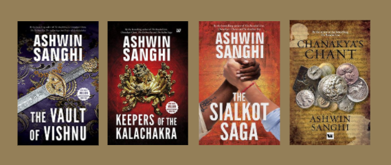 Alchemy of Two Worlds – Best Books by Ashwin Sanghi.