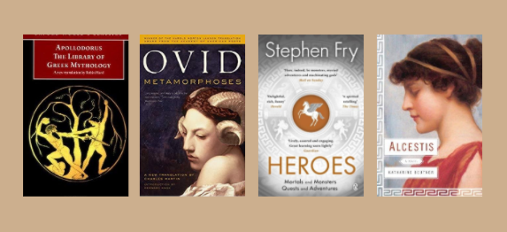 Best Books on Greek Mythology